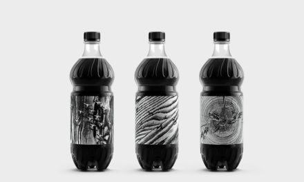 Packaging en blanco y negro