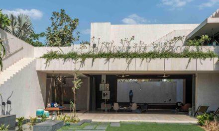 SPASM crea esta casa de piedra en la India
