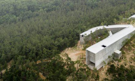Álvaro Siza y Carlos Castanheira pueblan el bosque de Corea del Sur con estructuras de hormigón