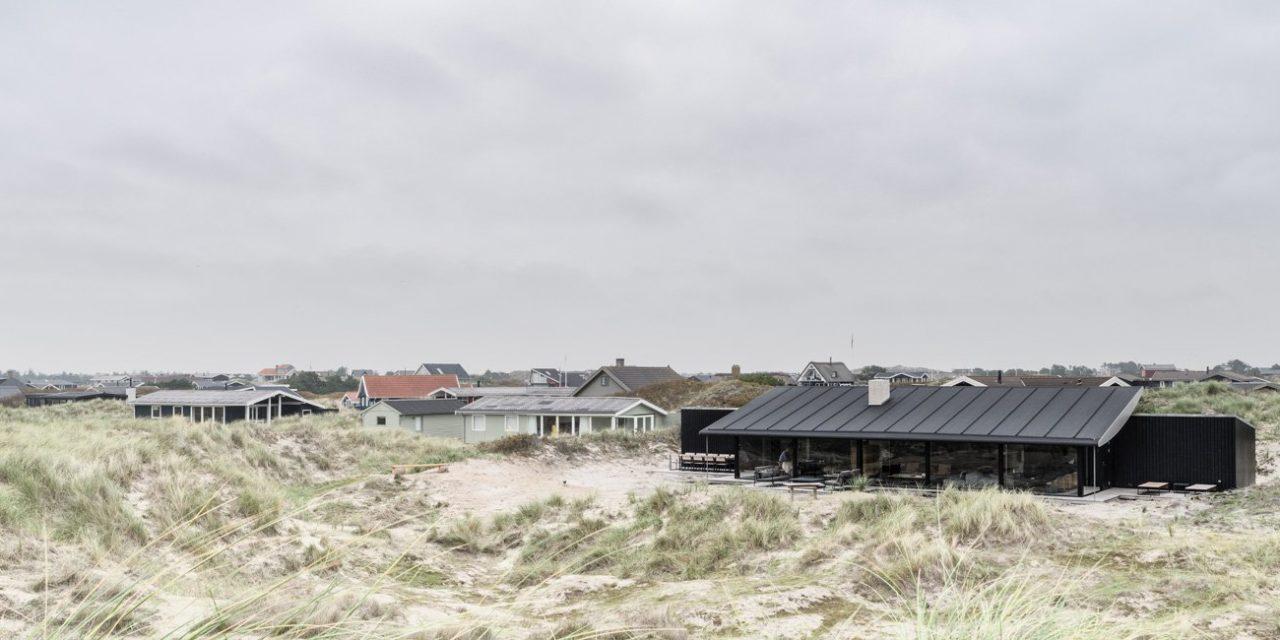 Knud Holscher construye una increíble vivienda en la isla Danesa Fanø