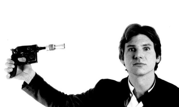 Star Wars en blanco y negro